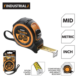 Tolsen Measuring Tape 10M/33ft(x25mm)