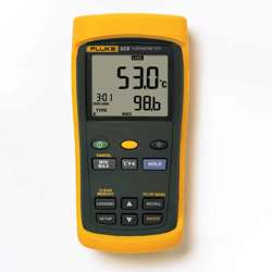 Fluke 53 II B/50Hz Single Input Digital Thermometer with data logging