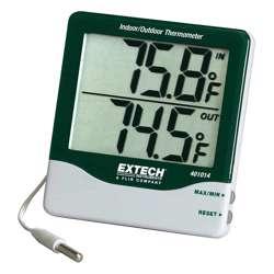 Extech 401014 Built-in memory stores Big Digit Indoor/Outdoor Thermometer