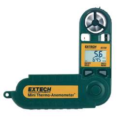 Extech 45158 Waterproof pocket size Mini Thermo-Anemometer with Humidity