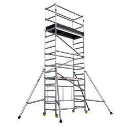 Gazelle G6204 Aluminium Scaffolding - Working Height 5.8M ; Platform Height 3.8M;