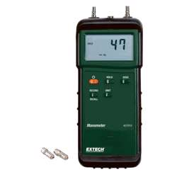 Extech 407910 Heavy Duty Differential Pressure Manometer (29psi)