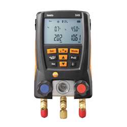 Testo Testo 549 Entry-level digital manifold, Measuring range -1 to 0 bar