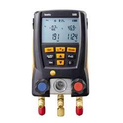 Testo Testo 550 Digital Manifold, Measuring range -1 to 0 bar