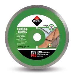 Rubi 25910 Ceramic Tiles Continuous Rim Diamond Blade 115mm