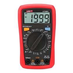 Uni-T UT33B+ Palm Sized Digital Multimeters