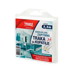 Beorol GT122 Adhesive seal for bathtubs shower& washbasins 22mm x 2.4m