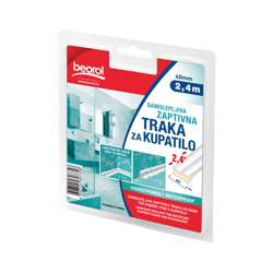 Beorol GT140 Adhesive seal for bathtubs shower& washbasins 40mm x 2.4m 40mm x 2.4m