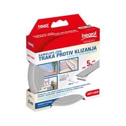 Beorol GT5W Adhesive Anti-Skid tape white 25mm x 5m