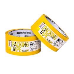 Beorol KSZU Packing tape, 50mm x 50m, yellow 50mm x 50m