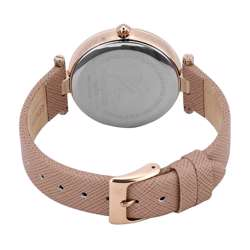 Leather Womens''s Beige Watch - DK.1.12270-5 preview