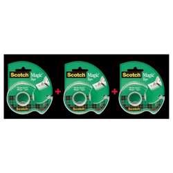 3M Scotch Magic Tape 105 Caddy Pack 2+1 Free