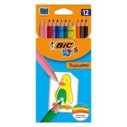 Bic Kids Tropiclor Colour Pencil - Pack Of 12