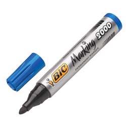 Bic Permanent Marker 2000 Bulletin Tip - Blue