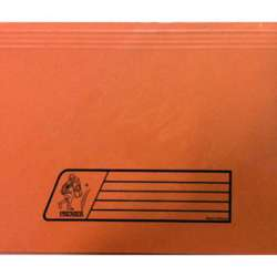 Premier Document Wallet Full Scape Size, 300Gsm, Orange Colour preview