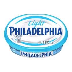 Philadelphia Light Cream Cheese Spread (32x280g)