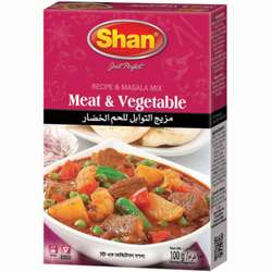 Shan Meat and Vegetable Curry (144x100g)