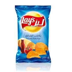 Lay's Tomato Ketchup Potato Chips (56x23g)
