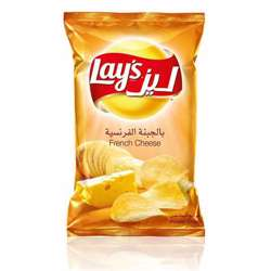 Lay's French Cheese Potato Chips (56x23g)