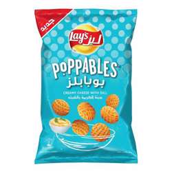 Lay's Poppables Creamy Cheese with Dill (12x85g)