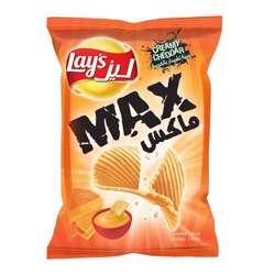 Lay's Max Creamy Cheddar Chips (20x50g)