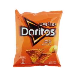 Doritos Nacho Cheese Tortilla Chips (60x23g)