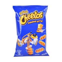 Cheetos Twisted Cheese Corn Puffs (25x30g)