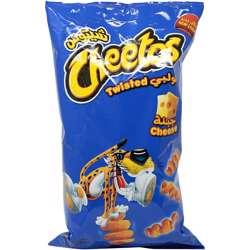 Cheetos Twisted Cheese Corn Puffs (18x160g)