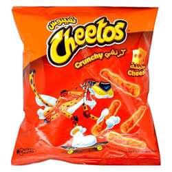 Cheetos Crunchy Cheese Snacks (64x25g)