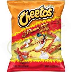 Cheetos Crunchy Flamin'' Hot Snacks (20x205g)