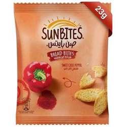 Sunbites Sweet Chili Pepper Bread Bites (96x23g)