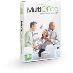 Multi Office A4 Size Copy Paper 80 gm (Box of 5 Reams)