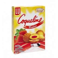 LU Coqueline Strawberry Cake (16x165g)