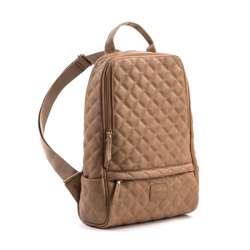 Gunas Cougar Quilted Backpack Brown