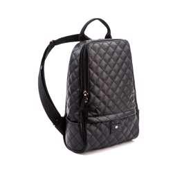 Gunas Cougar Quilted Backpack Black
