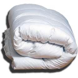 "Hungarian Goose Punkt Step Comforter King 107x96""38oz Summer Fill"