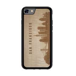 WUDN CityScape Wooden Phone Case - San Francisco CA