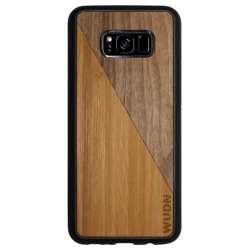 WUDN Slim Wooden Phone Case - Bamboo Walnut Split