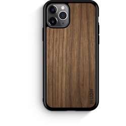 WUDN Slim Wooden Phone Case - Black Walnut