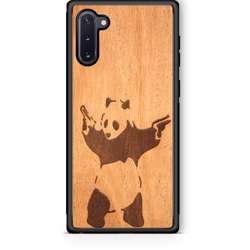WUDN Slim Wooden Phone Case - Banksy Bad Panda
