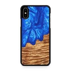 WUDN Slim Resin Wood Phone Case - Blue