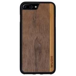 WUDN Slim Wooden Phone Case - Walnut Bamboo Stripe