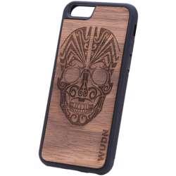 WUDN Ultra-WUDN Slim Wooden Phone Case - Tribal Skull