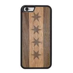 WUDN Slim Wooden Phone Case - Chicago Traveler