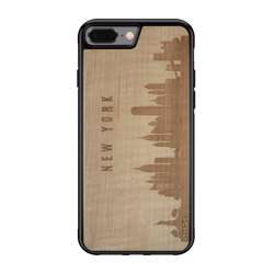 WUDN CityScape Wooden Phone Case - New York NY