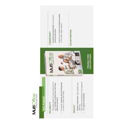 Multi Office A4 Size Copy Paper 80 gm (Box of 5 Reams) preview