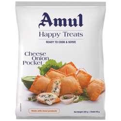 Amul Cheese Onion Pockets (24x300g)