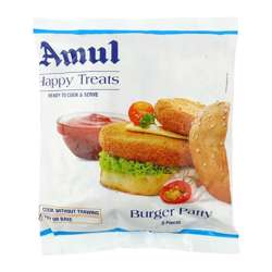 Amul Happy Treats Veg Burger Patty (30x360g)