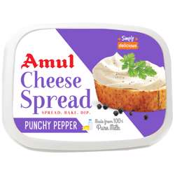 Amul Cheese Spread Pepper (24x200g)