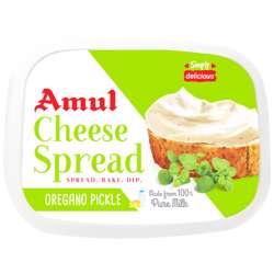 Amul Cheese Spread Oregano Pickle (24x200g)